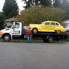 towing hot rod